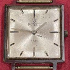 Relojes de pulsera: RELOJ DE PULSERA DE CARGA MANUAL, POTENS. Lote 280964083