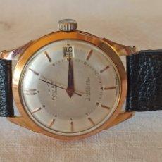 Relojes de pulsera: RELOJ HOMBRE., MARCA PALLAS 17 JEWELS INCABLOC. Lote 283001868