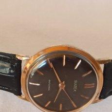 Relojes de pulsera: RELOJ HOMBRE SUIZEX ANTICHOC CUERDA MANUAL. Lote 283003773