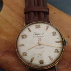 Relojes de pulsera: RELOJ SUIZO DE CABALLERO CARGA MANUAL CAUNY PRIMA 21 CENTENARIO,. Lote 283322453