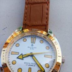 Relojes de pulsera: RELOJ HENRI SANDOZ AÑOS 70 80. Lote 283700713