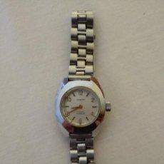 Relojes de pulsera: RELOJ VINTAGE SEÑORA SANTPI 17 RUBÍS PULSERA PEQUEÑA. Lote 284149788