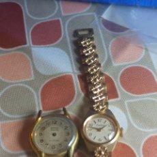 Relojes de pulsera: LOTES 2 RELOJES CUERDA MANUAL PARA REPARACIÓN. Lote 284322318