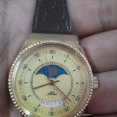 Relojes de pulsera: ANTIGUO RELOJ MARCA ALEA CARGA MANUAL ESTILO LUNAR FUNCIONANDO. Lote 285098303