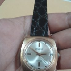 Relógios de pulso: RELOJ ANTIGUO JUPEX 25 RUBIS AUTOMANETIQUE INCABLOC DE CUERDA MANUAL CON CALENDARIO FUNCIONANDO. Lote 285101948