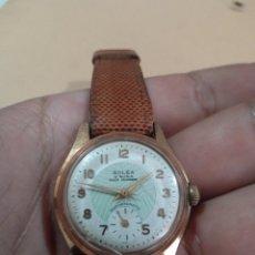 Relojes de pulsera: ANTIGUO RELOJ. MARCA SOLEX SHOCK ABSORBER CARGA MANUAL ANTIMAGNETIC RELOJ FUNCIONANDO. Lote 285105113