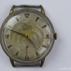 Orologi da polso: VINTAGE RELOJ PULSERA A CUERDA KARDEX CHAPADO EN ORO. Lote 285467128