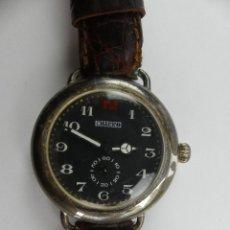 Orologi da polso: VINTAGE RELOJ PULSERA A CUERDA CHARRO DE PLATA 925. Lote 285468993
