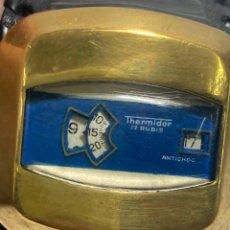 Relógios de pulso: VINTAGE RELOJ DE PULSERA THERMIDOR AÑO 1970 FUNCIONANDO DIGITAL CARGA MANUAL. Lote 286323548
