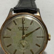Relógios de pulso: RELOJ CAUNY PRIMA MODELO VINTAGE MAQUINARIA 730 EN FUNCIONAMIENTO. Lote 286508563