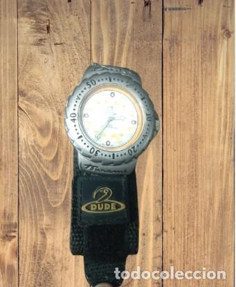 EXCEPCIONAL ANTIGUO RELOJ DE HOMBRE, MARCA DUDE, EN PERFECTO ESTADO, FUNCIONANDO (Relojes - Pulsera Carga Manual)