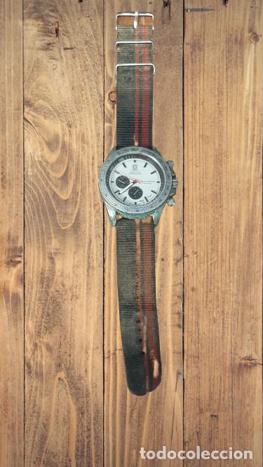 RELOJ PARA HOMBRE WORLD TIME INTERNATIONAL L SPEED RACER, EN BUEN ESTADO, FUNCIONANDO (Relojes - Pulsera Carga Manual)