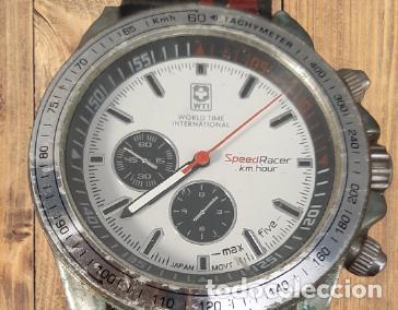 Relojes de pulsera: RELOJ PARA HOMBRE WORLD TIME INTERNATIONAL l SPEED RACER, EN BUEN ESTADO, FUNCIONANDO - Foto 2 - 286602588