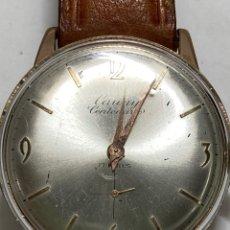 Relógios de pulso: RELOJ CAUNY PRIMA CENTENARIO CARGA MANUAL CAJA CHAPADA EN FUNCIONAMIENTO. Lote 286629378