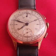 Relógios de pulso: RELOJ CHRONOMETRE SUISSE DE ORO 18K. FUNCIONA BIEN .MIDE 35.6 MM DIAMETRO. Lote 286666498
