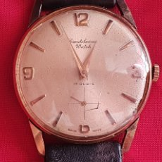 Relógios de pulso: RELOJ CANDELEANOU WATCH 17 RUBIS NO FUNCIONA.MIDE 34 MM DIAMETRO TAL CUAL COMO SE VE EN FOTOS. Lote 286808468