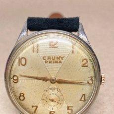 Montres-bracelets: RELOJ CAUNY PRIMA CARGA MANUAL EN FUNCIONAMIENTO. Lote 287342283