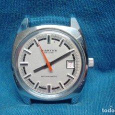 Relojes de pulsera: -RELOJ DIANTUS DE LUXE CARGA MANUAL - FUNCIONA PERO SE ADELANTA. Lote 207716461