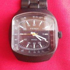 Montres-bracelets: RELOJ FEREX MONZA DE CUERDA FUNCIONA MIDE .40.5 MM DIAMETRO. Lote 287708868