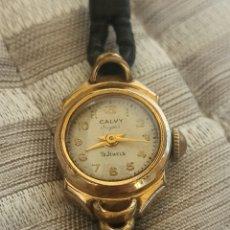 Relojes de pulsera: RELOJ VINTAGE CALVY SUPER 15 JEWELS. Lote 288603283