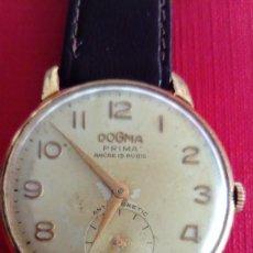 Relojes de pulsera: ANTIGUO RELOJ DOGMA PRIMA. Lote 288984418