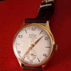 Relógios de pulso: RELOJ DOGMA PRIMA ANCRE 21 RUBIS CARGA MANUAL.. Lote 288999653
