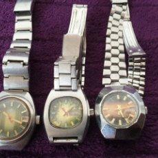 Relojes de pulsera: ANTIGUOS RELOJES AUTOMATICOS CLIPER DUWARD Y SUZUKI. Lote 289261578