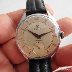 Relojes de pulsera: RELOJ DE CARGA MANUAL CYMA MODELO CYMAFLEX CALIBRE 576. Lote 289328308