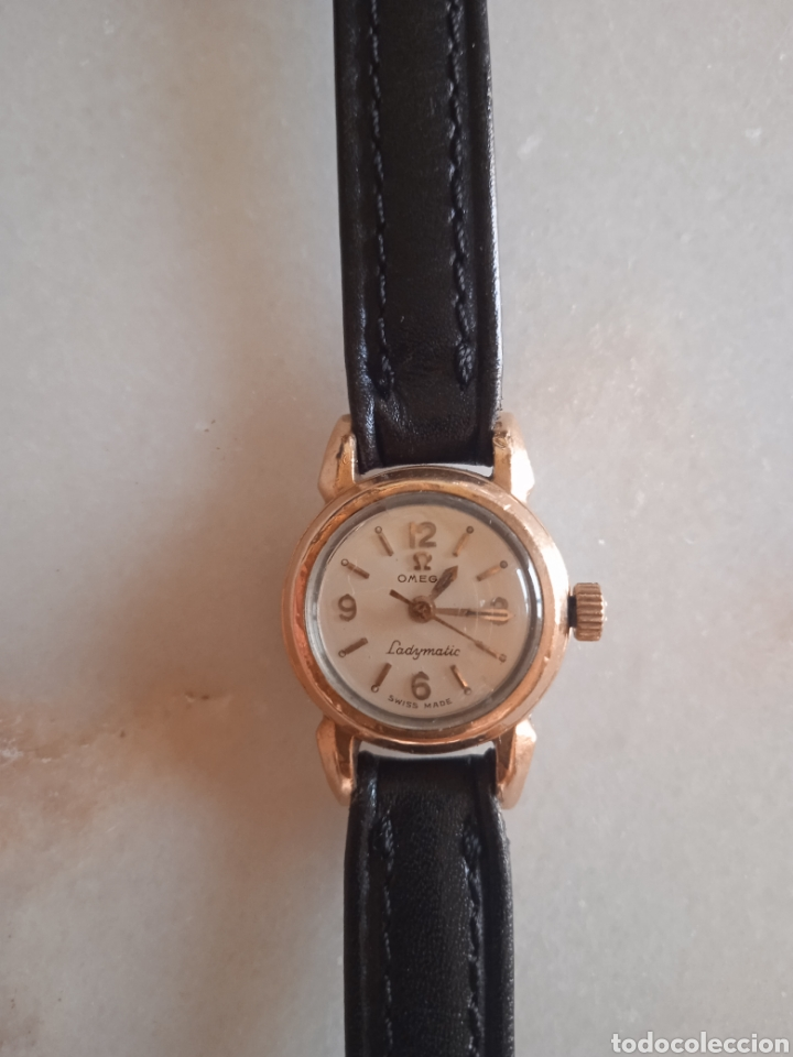 Relojes de pulsera: antiguo reloj Omega de Señora Ladymatic - Foto 2 - 289498623
