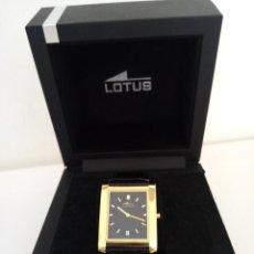 Relojes de pulsera: RELOJ DE PULSERA LOTUS CON CALENDARIO PARA HOMBRE. Lote 289506533