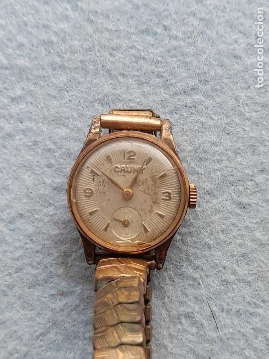 Relojes de pulsera: Reloj marca Cauny. Clásico de dama. Swiss made - Foto 2 - 289669858