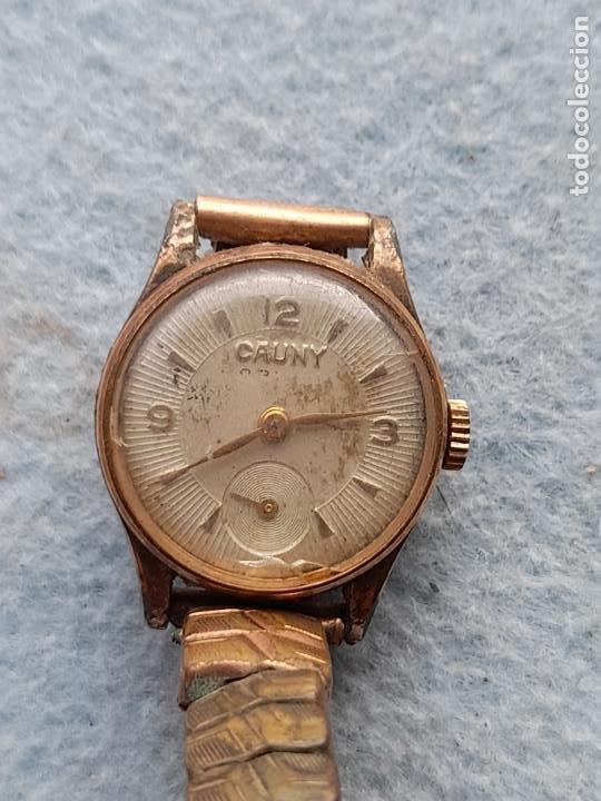 Relojes de pulsera: Reloj marca Cauny. Clásico de dama. Swiss made - Foto 8 - 289669858