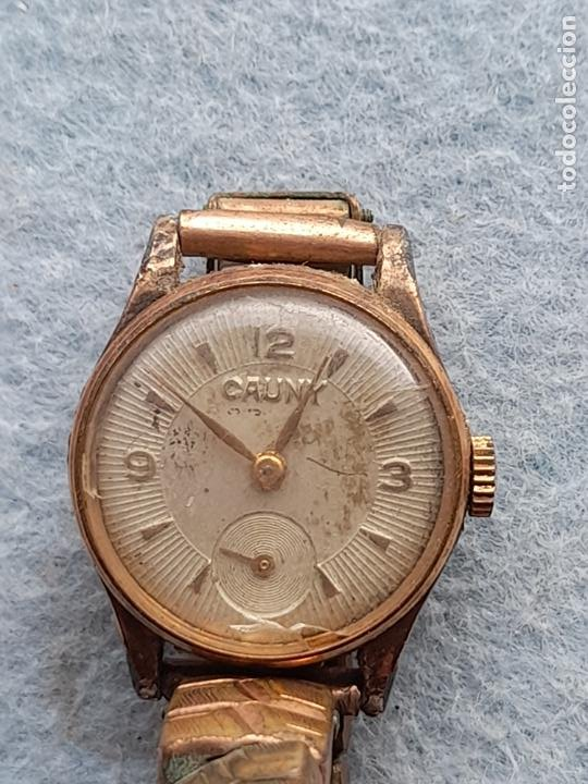 Relojes de pulsera: Reloj marca Cauny. Clásico de dama. Swiss made - Foto 5 - 289669858