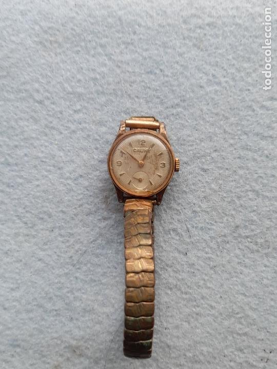RELOJ MARCA CAUNY. CLÁSICO DE DAMA. SWISS MADE (Relojes - Pulsera Carga Manual)