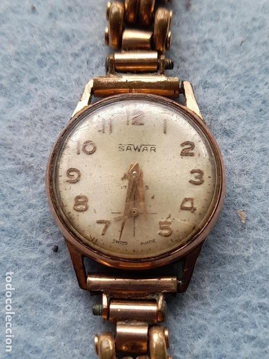 Relojes de pulsera: Reloj marca Sawar. Clásico de dama. Swiss made - Foto 10 - 289670238
