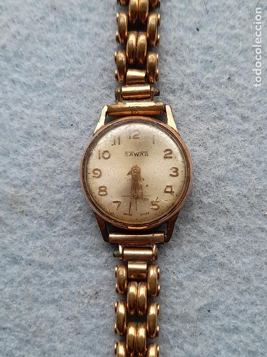 RELOJ MARCA SAWAR. CLÁSICO DE DAMA. SWISS MADE (Relojes - Pulsera Carga Manual)