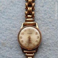 Relojes de pulsera: RELOJ MARCA SAWAR. CLÁSICO DE DAMA. SWISS MADE. Lote 289670238