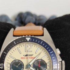 Relojes de pulsera: POLJOT INTERNACIONAL RED OCTOBER EDICIÓN ESPECIAL NUMERADA. CRONO CAL. 3133.. Lote 291930313