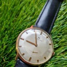 Relojes de pulsera: RELOJ HAMILTON CUERDA MANUAL REVISADO. Lote 293301468