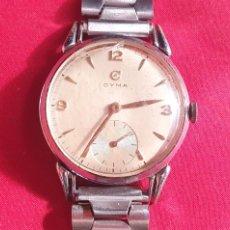 Relógios de pulso: RELOJ CYMA 15 JEWELS NO FUNCIONA .MIDE 37.5 MM DIÁMETRO. Lote 293557898