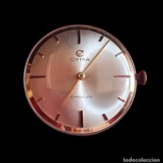 Relógios de pulso: MAQUINARIA DEL RELOJ CYMA -CYMAFLEX 17 JEWELS FUNCIONA .MIDE 32.2 MM DIAMETRO. Lote 294175818