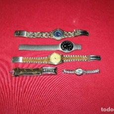 Relojes de pulsera: LOTE DE 5 RELOJES. Lote 295402028