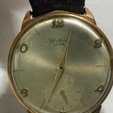 Relojes de pulsera: RELOJ BLATTINA LUXE CARGA MANUAL CAJA CHAPADA EN FUNCIONAMIENTO. Lote 295439798