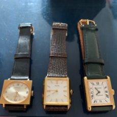 Relojes de pulsera: TRES RELOJES ANTIGUOS SIN USO. Lote 295442253