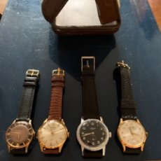 Relógios de pulso: 4RELOJES VINTAGE ANDAN SIN USO. Lote 295442608