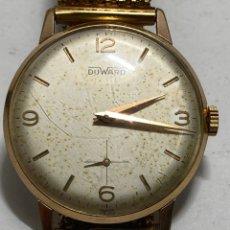 Relojes de pulsera: RELOJ DUWARD CARGA MANUAL CAJA CHAPADA ORO EN FUNCIONAMIENTO. Lote 295499683