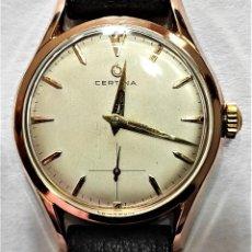 Relojes de pulsera: RELOJ PULSERA - CERTINA - CUERDA - CALIBRE 321 - 15 RUBIES - AÑO 1955 - DIAMETRO 33 MM. Lote 295512853