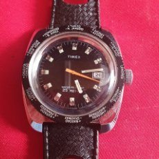 Relojes de pulsera: RELOJ TIMEX WATER RESISTANT 25 METRES FUNCIONA.MIDE 35.4 MM DIAMETRO. Lote 295787333