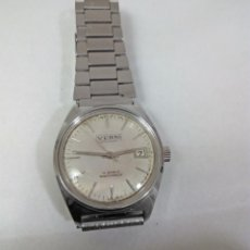 Relojes de pulsera: RELOJ VERNI DE CARGA MANUAL 17 JEWELS - CAJA 32 MM - FUNCIONANDO. Lote 295853388