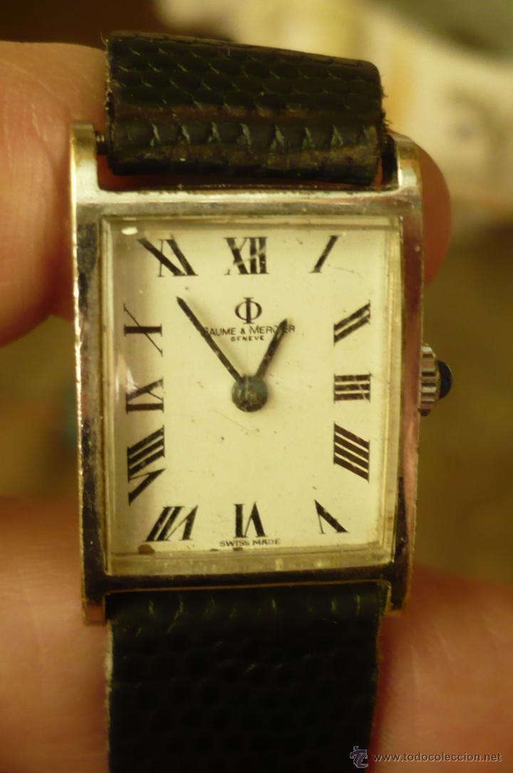 RELOJ VINTAGE BAUME MERCIER (Relojes - Relojes Actuales - Baume & Mercier)